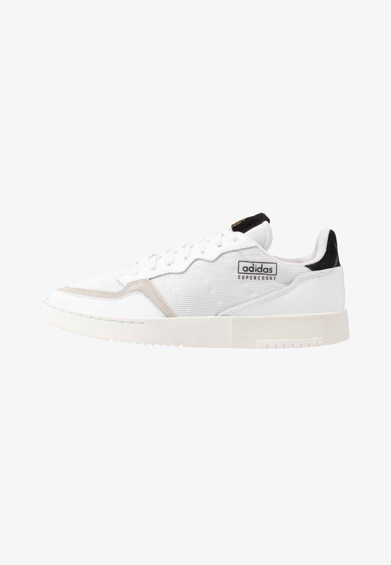 adidas Originals - SUPERCOURT - Sneakers - footwear white/core black