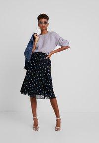 Minimum - VINETTA - A-line skirt - black - 1