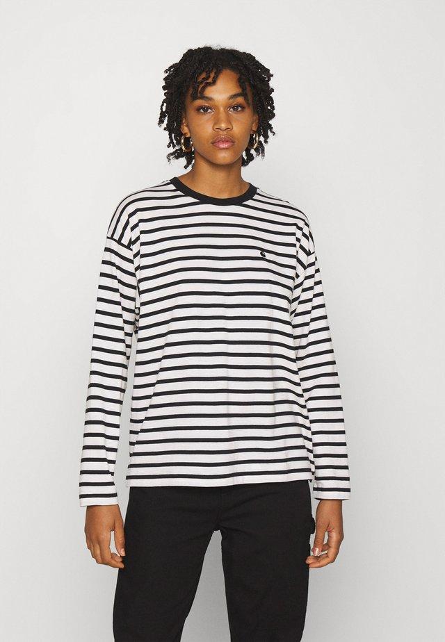 ROBIE  - T-shirt à manches longues - wax/black