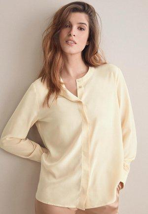 Button-down blouse - hautfarben - 8576 - crema