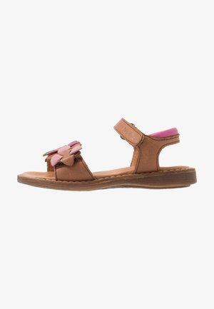 LORE FLOWERS MEDIUM FIT - Sandals - brown