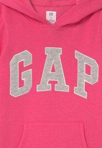 GAP - GIRLS LOGO - Sweat à capuche - pink jubilee - 2