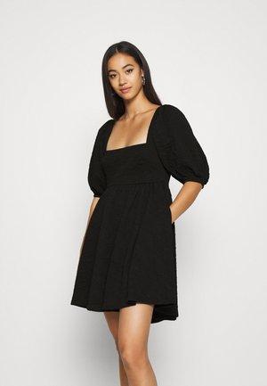 VIOLET MINI DRESS - Day dress - black