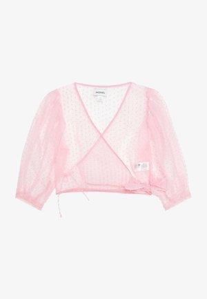 OLIVIA BLOUSE - Bluser - light pink organza
