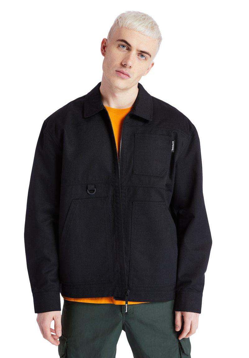 Timberland - YC WORKWEAR JACKET - Summer jacket - black