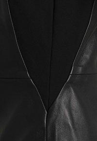 ONLY - ONLLENA DRESS - Denní šaty - black - 4