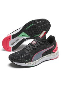 Puma - Trainers - black/ignite pink - 3