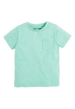 LIGHT GREEN SHORT SLEEVE T-SHIRT (3MTHS-7YRS) - Basic T-shirt - green