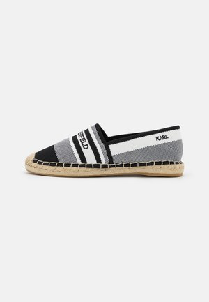 KAMINI - Espadrilles - white/black
