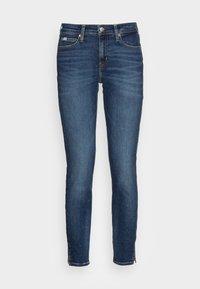 MID RISE ANKLE - Jeans Skinny Fit - denim medium