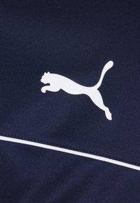 Puma - TEAMRISE - Veste de survêtement - peacoat/white - 2