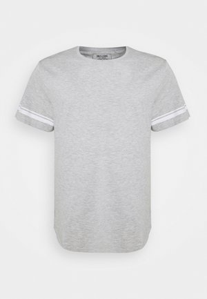ONSMATT LIFE LONGY STRIPE   - Print T-shirt - light grey melange