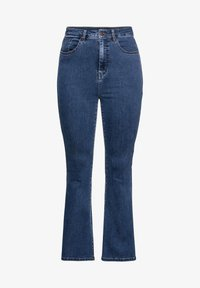 Sheego - Bootcut jeans - blue denim - 4