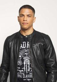 Freaky Nation - EASY JIM - Leather jacket - black - 3