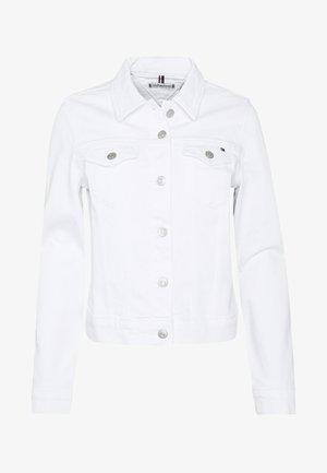 SHRUNK  - Denim jacket - white