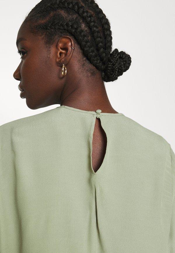 Carin Wester BLOUSE BRENDA - Bluzka z długim rękawem - oil green/ciemnozielony OSCF