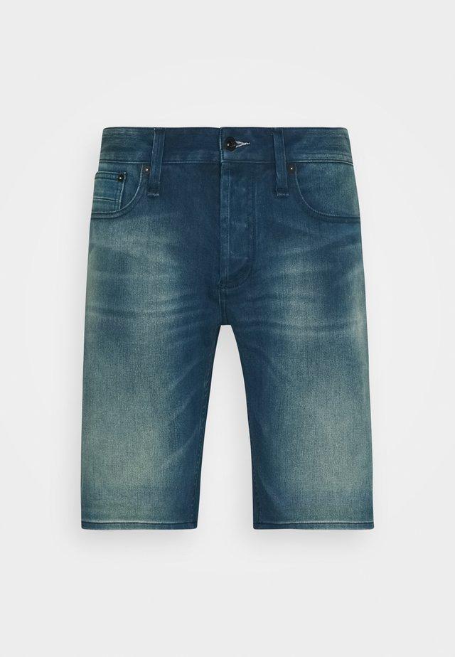 RAZOR - Jeansshort - blue