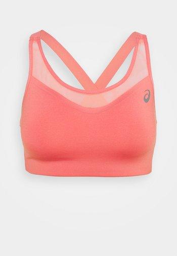 ACCELERATE BRA - High support sports bra - peach petal