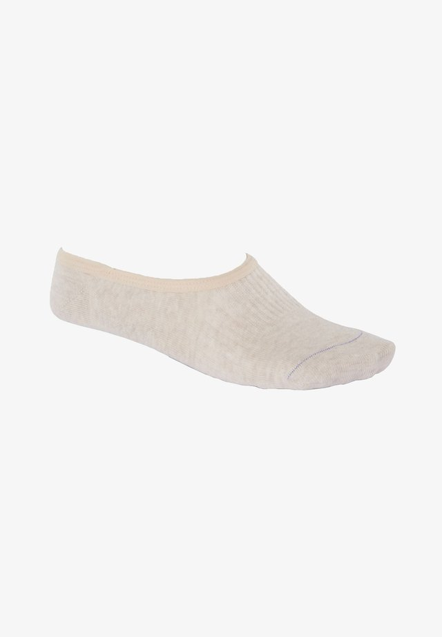 Trainer socks - beige