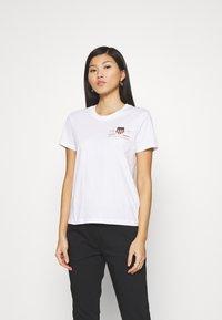 GANT - ARCHIVE SHIELD  - T-shirts med print - white - 0