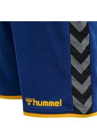Hummel - HMLAUTHENTIC  - Sports shorts - true blue/sports yellow - 3