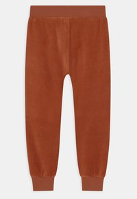 Lindex - FACE UNISEX - Tracksuit bottoms - dark dusty orange - 1