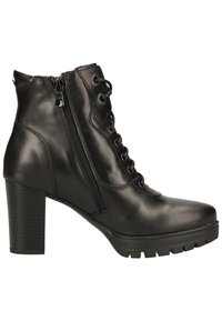 NeroGiardini - Lace-up ankle boots - black bk 100 - 5