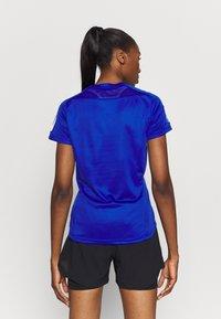 adidas Performance - OWN THE RUN TEE - T-shirts med print - blue - 2