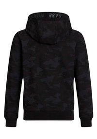 WE Fashion - Hoodie met rits - black - 4