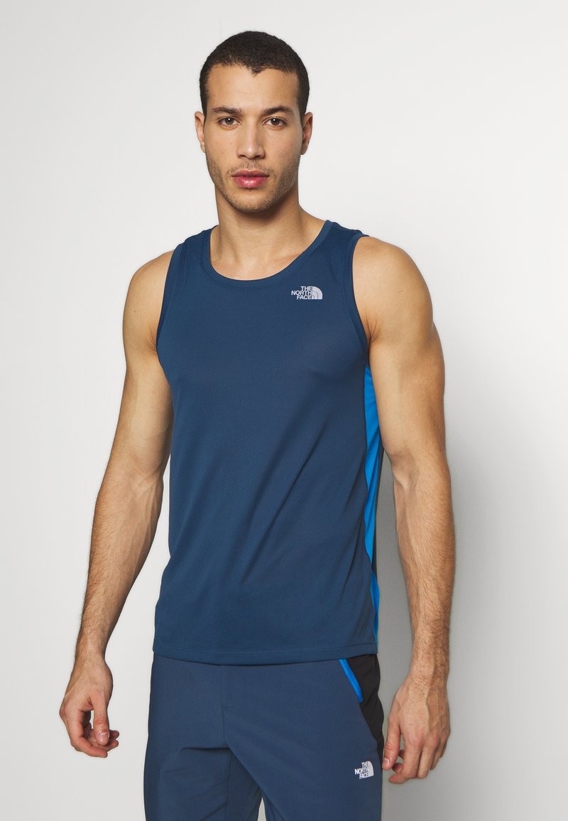 The North Face - MENS AMBITION TANK - Top - bluewngteal/clearlakeblue