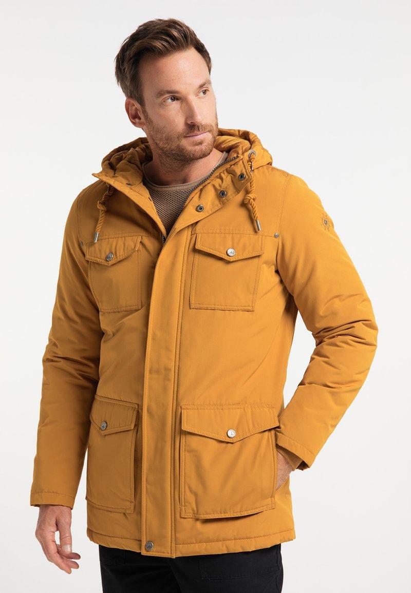 DreiMaster - Winter coat - senf
