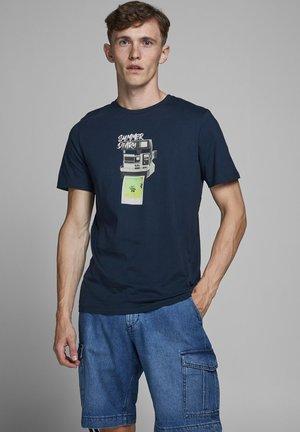 JORBILLY TEE CREW NECK - T-shirts print - navy blazer
