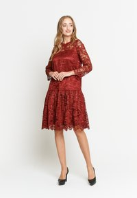 Madam-T - OTTILIANA - Cocktail dress / Party dress - weinrot - 1