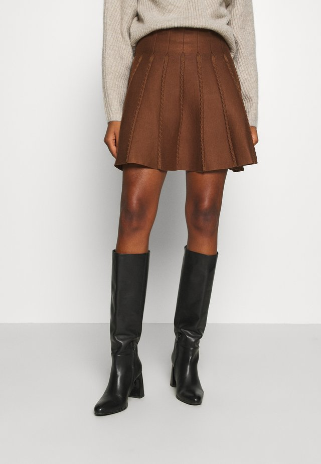 YOUNG LADIES SKIRT - Jupe trapèze - camel