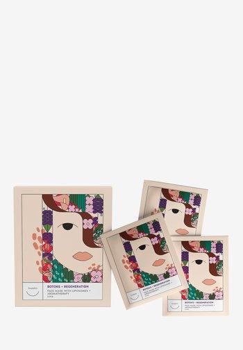 3PLE PACK FACE MASK BOTOKS + REGENERATION WITH LIPOSOMES - Skincare set - -