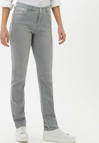 BRAX - STYLE MARY - Slim fit jeans - used summer grey - 0