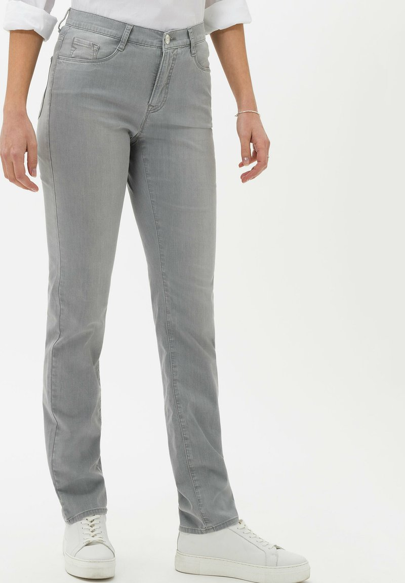 BRAX - STYLE MARY - Slim fit jeans - used summer grey