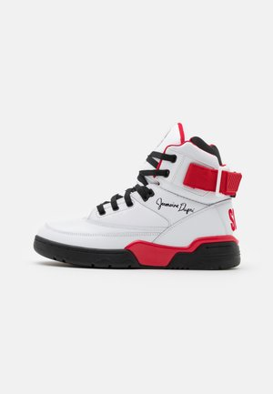 33 X SO SO DEF - High-top trainers - white/black/red