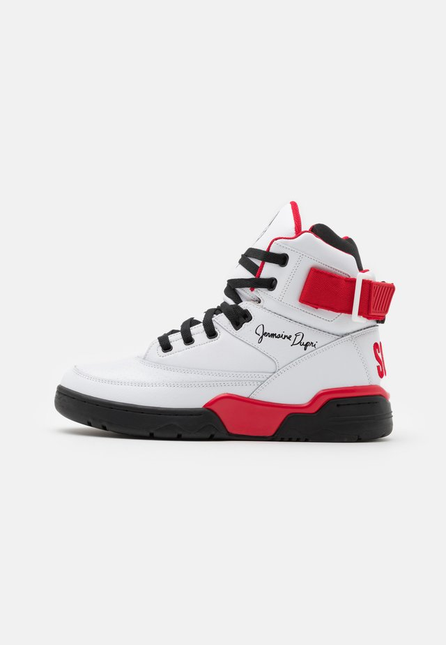 33 X SO SO DEF - Sneakers hoog - white/black/red