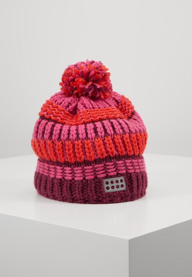 WALFRED HAT - Bonnet - bordeaux