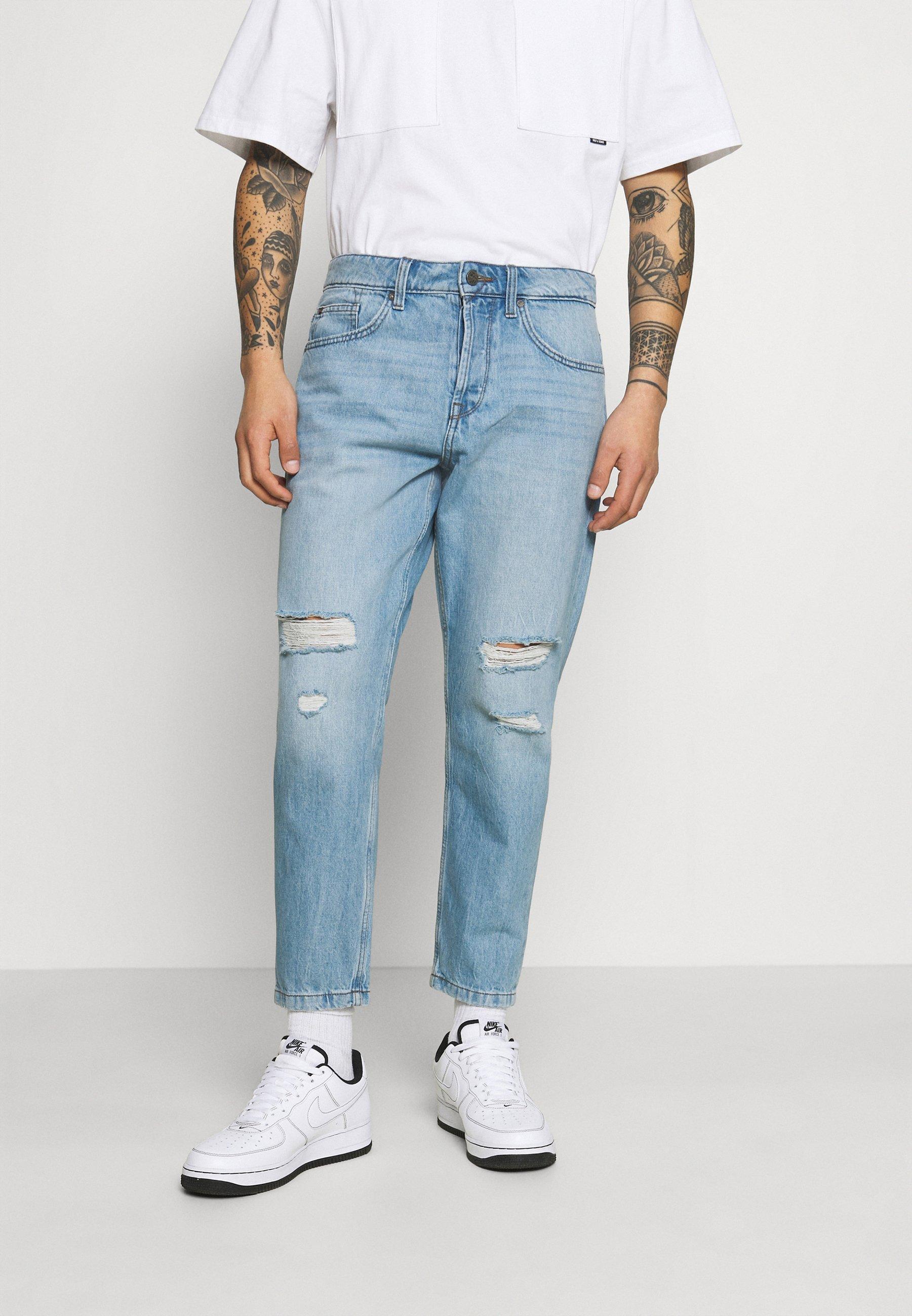 Herren ONSAVI BEAM LIFE CROP - Jeans Tapered Fit
