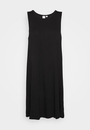 SWING DRESS - Jersey dress - true black