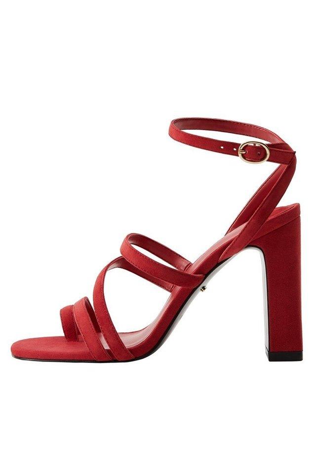 POGO - High heeled sandals - geranienrosa