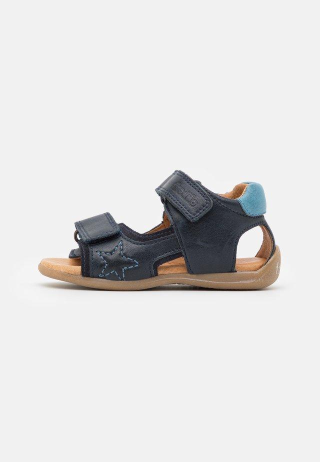 GOGI - Sandaalit nilkkaremmillä - dark blue