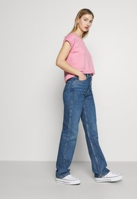 Weekday - ROWE - Jeans straight leg - sea blue - 3