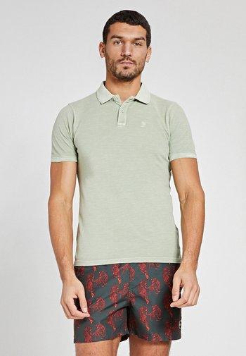 Polo shirt - silvered green