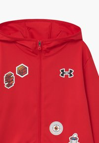Under Armour - HOOPS WARMUP  - Training jacket - red - 2