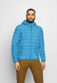 CMP - MAN JACKET FIX HOOD - Outdoor jacket - denim - 0
