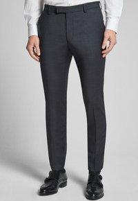 JOOP! - GUN - Pantaloni eleganti - mottled black-gray - 0