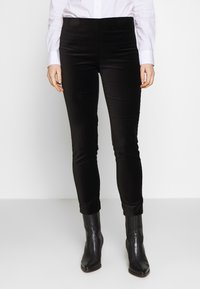 Lauren Ralph Lauren - SOFT PANT - Trousers - polo black - 0